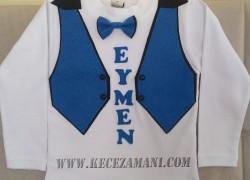 Keçe Yelek Modelli Tişört