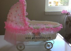 Bebek Şekeri Sepeti Süsleme