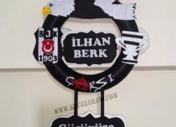 Keçe Beşiktaş Kapı Süsü(İlhan Berk)