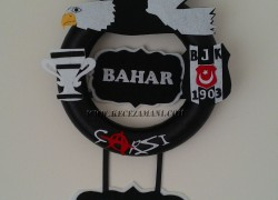 Keçe Beşiktaş Kapı Süsü(Bahar)