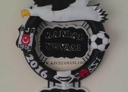 Keçe Beşiktaş Kapı Süsü(Kartal Yuvası)