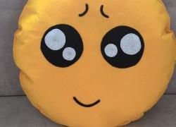 Keçe Emoji Yastık