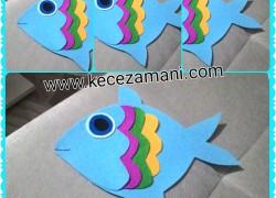 Keçe Renkli Balık