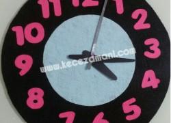 Keçe Öğrenci Ödevi Saat