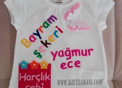 Keçe  Bayram Tişörtü (Yağmur Ece)