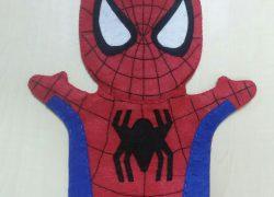 Keçe Örümcek Adam El Kuklası