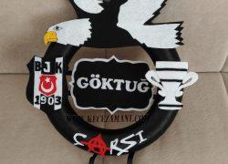 Keçe Beşiktaş Kapı Süsü (Göktuğ)
