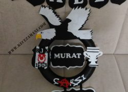 Keçe Beşiktaş Kapı Süsü(Murat)