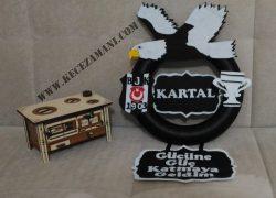 Keçe Beşiktaş Kapı Süsü(Kartal bebek)