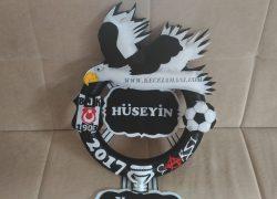 Keçe Beşiktaş Kapı Süsü(Hüseyin)