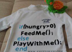 Keçe İşlemeli Kod Yazılı Badi