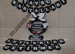 Keçe Beşiktaş Kapı Süsü(Uraz Kartal)