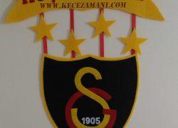 Keçe Galatasaray Hoşgeldiniz Kapı Süsü (Hamdullah Bey)