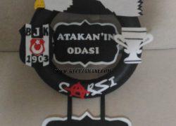 Beşiktaş Taraftar Kapı Süsü(Atakan)