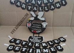 Keçe Beşiktaş Taraftar Kapı Süsü(Mustafa Ertuğrul)