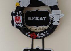 Keçe Beşiktaş Kapı Süsü (Berat)