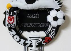 Keçe Beşiktaş Kabartmalı Kapı Süsü(Ali Çubukçu)