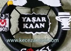 Keçe Beşiktaş Kapı Süsü(Yaşar Kaan)