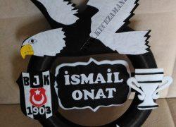 Keçe Beşiktaş Kapı Süsü(İsmail Onat)