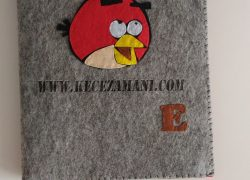 Angry Birds Keçe Kitap Kılıfı