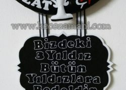 Keçe Beşiktaş Kabartmalı Kapı Süsü(Nevzat)