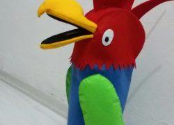 Keçe Büyük Papağan Kuklası