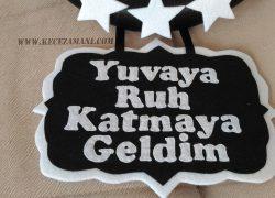 Keçe Beşiktaş Kapı Süsü(Alyanur)