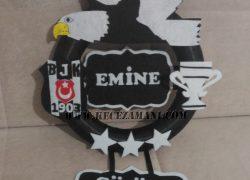 Keçe Beşiktaş Kapı Süsü(Emine)