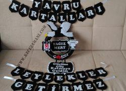 Keçe Beşiktaş Kapı Süsü(Yağız Mert)