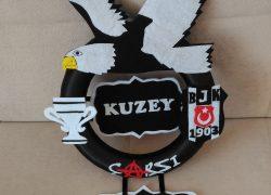 Keçe Beşiktaş Kapı Süsü(Kuzey)