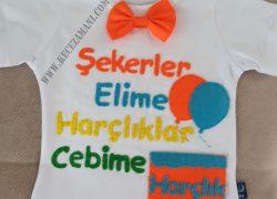 Keçe Bayram Tişörtü Renkli