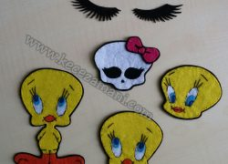 Keçe Tweety, Kirpik ve Monster High Arma