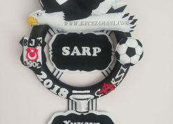 Keçe Beşiktaş Kabartma Kapı Süsü(Sarp)