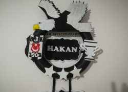 Keçe Beşiktaş Kapı Süsü(Hakan)