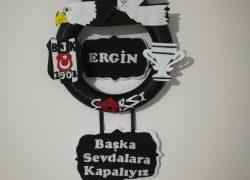 Keçe Beşiktaş Kapı Süsü(Ergin)
