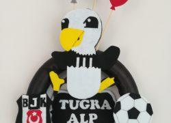 Beşiktaş Balonlu Kapı Süsü(Tuğra Alp)