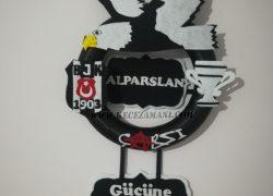 Keçe Beşiktaş Kapı Süsü(Alparslan )