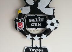 Keçe Beşiktaş Kapı Süsü(Salih Cem)