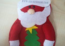 Keçe Noel Baba ve Kardan Adam Çatallık