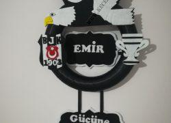Keçe Beşiktaş Kapı Süsü(Emir)