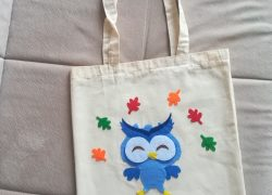 Alışveriş Bez Çanta Baykuş