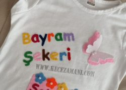 Keçe Bayram Tişörtü Rengarenk