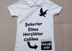 Keçe Beşiktaş Bayram Tişört
