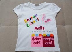 keçe bayram tişörtü Melis