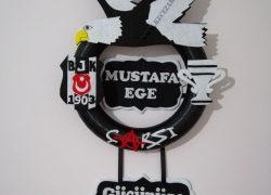 Keçe Beşiktaş Kapı Süsü(Mustafa Ege)