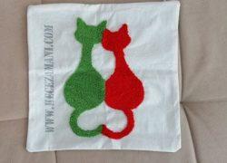 Punch Aşık Kediler Yastık