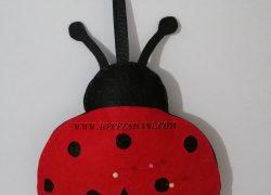 Keçe Uğur Böceği İğnelik
