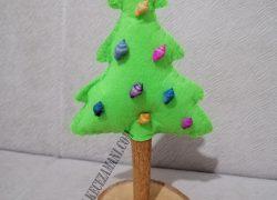 Keçe Lavanta Kokulu Yılbaşı Ağacı