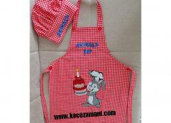 Tavşan Mutfak Önlüğü (Akınalp)