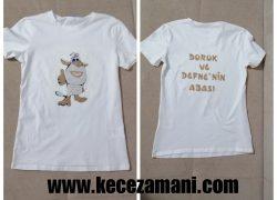 Keçe Booba Çizgi Film Tişörtü